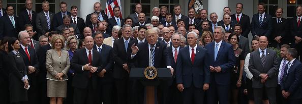 全景「President Trump Speaks At The White House After The House Voted On Health Care Bill」:写真・画像(19)[壁紙.com]