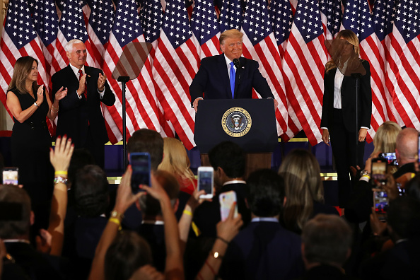 US First Lady「President Donald Trump Holds Election Night Event At The White House」:写真・画像(11)[壁紙.com]