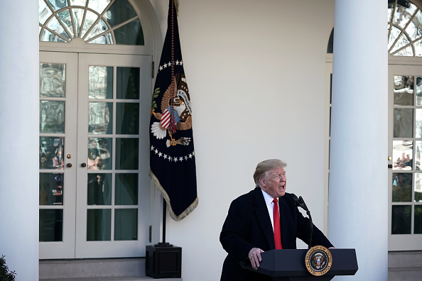 上半身「President Trump Speaks On Border Security And The Government Shutdown」:写真・画像(10)[壁紙.com]