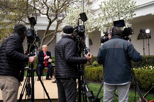 Fox Photos「President Trump Holds Fox Virtual Town Hall From White House Rose Garden」:写真・画像(18)[壁紙.com]