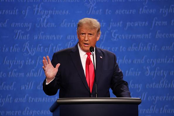 討論「Donald Trump And Joe Biden Participate In Final Debate Before Presidential Election」:写真・画像(18)[壁紙.com]