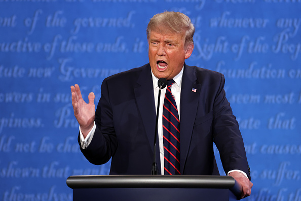 Debate「Donald Trump And Joe Biden Participate In First Presidential Debate」:写真・画像(10)[壁紙.com]