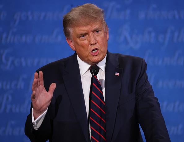 Discussion「Donald Trump And Joe Biden Participate In First Presidential Debate」:写真・画像(9)[壁紙.com]