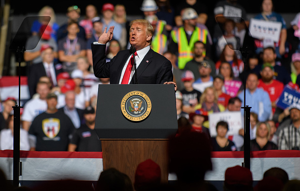 """MAGA「Donald Trump Holds """"Make America Great Again"""" Rally In West Virginia」:写真・画像(11)[壁紙.com]"""