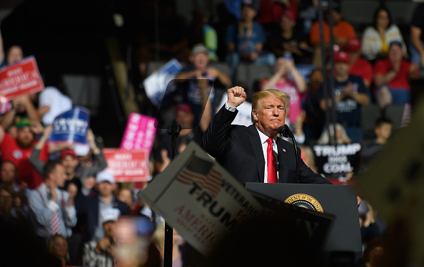 """MAGA「Donald Trump Holds """"Make America Great Again"""" Rally In West Virginia」:写真・画像(12)[壁紙.com]"""