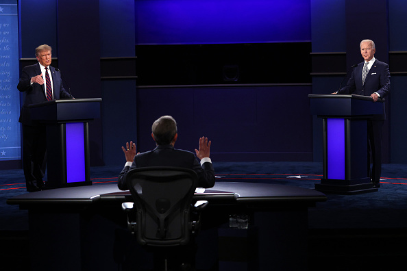 大統領選候補者討論会「Donald Trump And Joe Biden Participate In First Presidential Debate」:写真・画像(16)[壁紙.com]