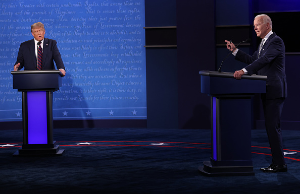 Debate「Donald Trump And Joe Biden Participate In First Presidential Debate」:写真・画像(8)[壁紙.com]