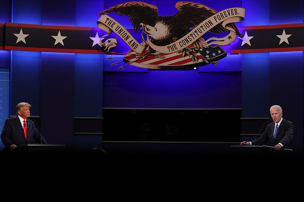 Presidential Election「Donald Trump And Joe Biden Participate In Final Debate Before Presidential Election」:写真・画像(9)[壁紙.com]