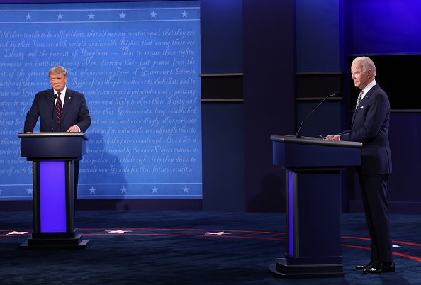 Presidential Candidate「Donald Trump And Joe Biden Participate In First Presidential Debate」:写真・画像(15)[壁紙.com]
