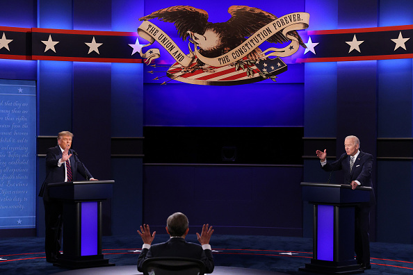 Presidential Candidate「Donald Trump And Joe Biden Participate In First Presidential Debate」:写真・画像(2)[壁紙.com]