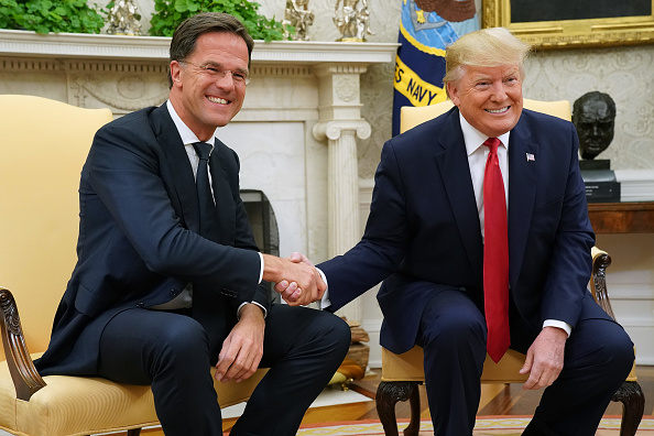 Netherlands「President Donald Trump Welcomes The Prime Minister Of The Netherlands To The White House」:写真・画像(19)[壁紙.com]