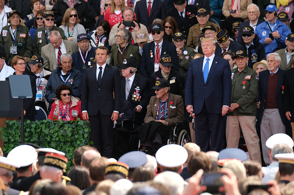 Anniversary「Normandy American Cemetery Holds D-Day 75th Anniversary Ceremony」:写真・画像(10)[壁紙.com]