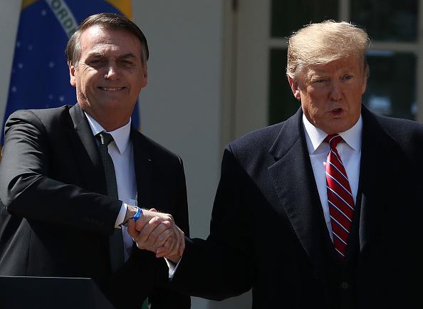Jair Bolsonaro「President Trump Holds Joint Press Conference With Brazilian President Bolsonaro」:写真・画像(3)[壁紙.com]