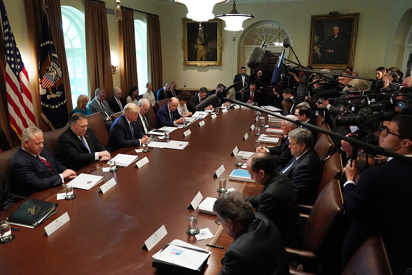Wilbur Ross「President Trump Holds A Cabinet Meeting At The White House」:写真・画像(18)[壁紙.com]
