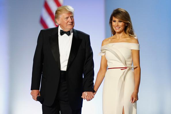 Melania Trump「President Donald Trump Attends Inauguration Freedom Ball」:写真・画像(9)[壁紙.com]