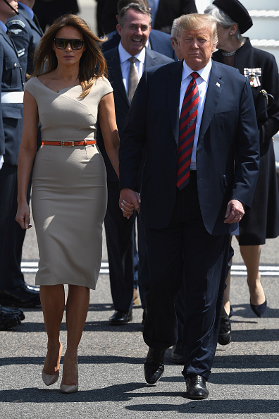 Essex - England「President Donald Trump And The First Lady Arrive In The UK」:写真・画像(13)[壁紙.com]
