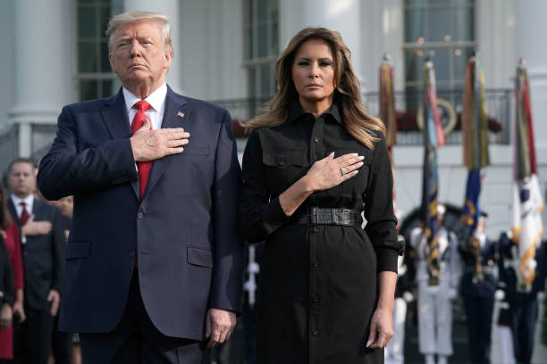 President And Mrs Trump Participate In Moment Of Silence On Anniversary Of 9/11:ニュース(壁紙.com)