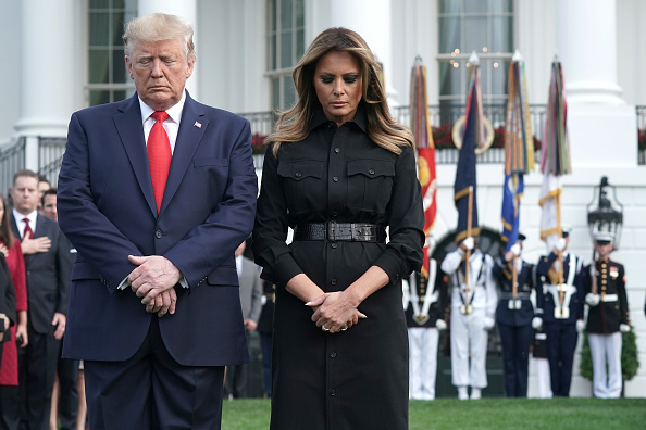Alex Wong「President And Mrs Trump Participate In Moment Of Silence On Anniversary Of 9/11」:写真・画像(13)[壁紙.com]