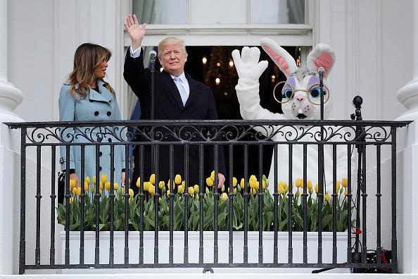 Easter Bunny「President And Mrs. Trump Host Annual White House Easter Egg Roll」:写真・画像(9)[壁紙.com]