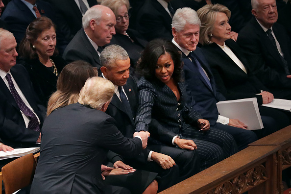 Funeral「State Funeral Held For George H.W. Bush At The Washington National Cathedral」:写真・画像(4)[壁紙.com]