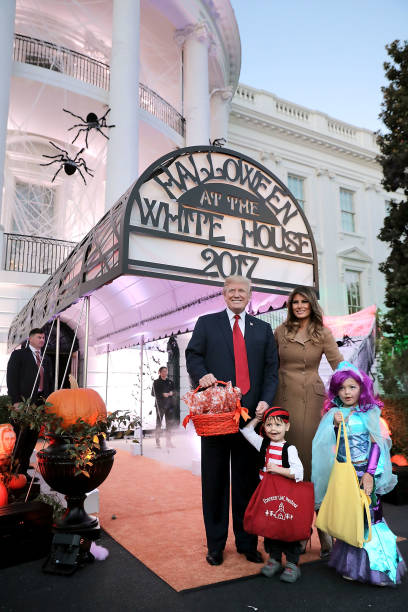 Sweet Food「President Trump And First Lady Host Halloween At The White House」:写真・画像(17)[壁紙.com]