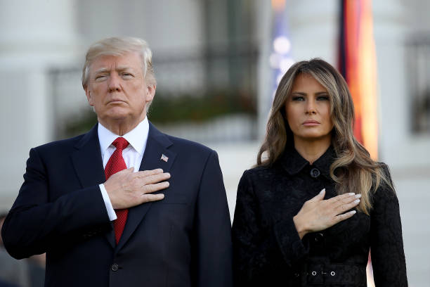President Trump And Melania Trump Lead Moment Of Silence For 9/11 Victims:ニュース(壁紙.com)