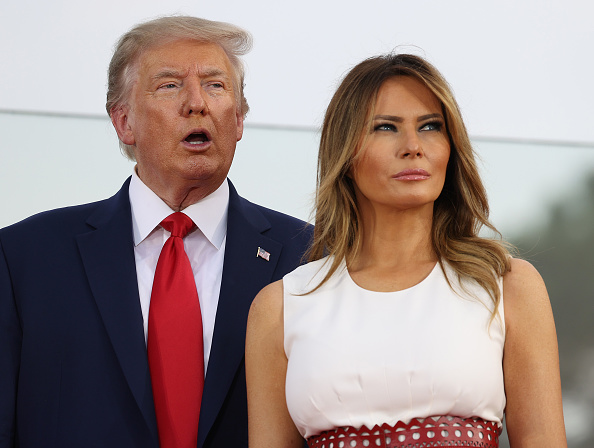 Melania Trump「Independence Day Celebrated At The White House」:写真・画像(10)[壁紙.com]