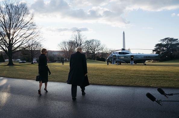 Leaving「President Trump Departs White House For Final Time In His Presidency」:写真・画像(9)[壁紙.com]
