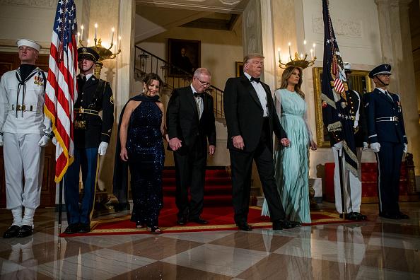 Visit「President Trump Welcomes Australian Prime Minister Scott Morrison To The Washington On State Visit」:写真・画像(4)[壁紙.com]