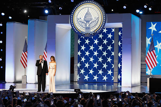 President Donald Trump Attends Inauguration Freedom Ball:ニュース(壁紙.com)