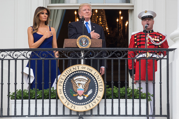 Fourth of July「President Trump Spends Fourth Of July In Washington DC Area」:写真・画像(1)[壁紙.com]