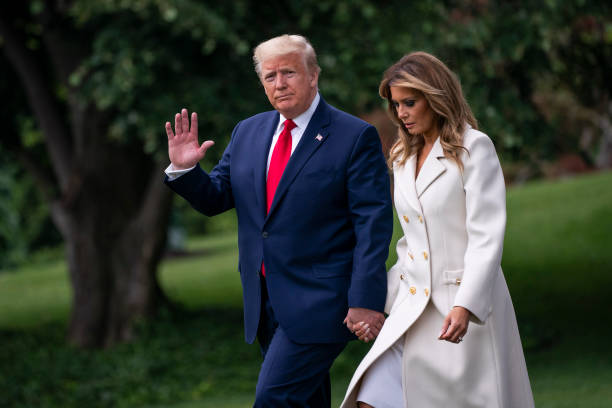 President Trump Departs White House For Memorial Day Ceremony In Baltimore:ニュース(壁紙.com)