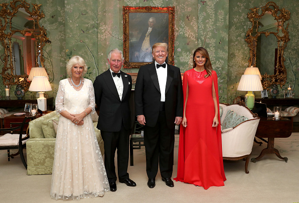 Topix「U.S. President Trump's State Visit To UK - Day Two」:写真・画像(8)[壁紙.com]