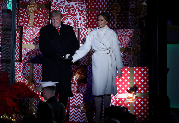 Christmas「President And Mrs Trump Attend National Christmas Tree Lighting」:写真・画像(18)[壁紙.com]