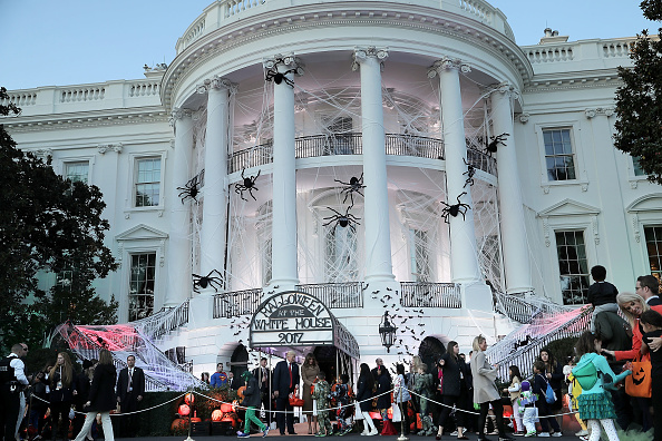 White House - Washington DC「President Trump And First Lady Host Halloween At The White House」:写真・画像(18)[壁紙.com]