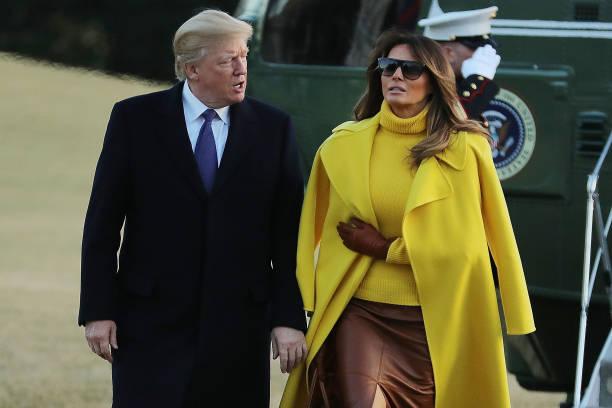 President And Mrs Trump Return To The White House:ニュース(壁紙.com)