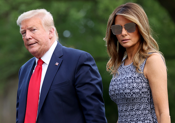Melania Trump「President Trump Returns To White House From Postponed SpaceX Launch」:写真・画像(19)[壁紙.com]