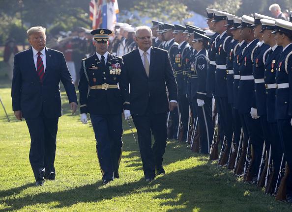 Win McNamee「President Trump Welcomes Australian Prime Minister Scott Morrison To The Washington On State Visit」:写真・画像(14)[壁紙.com]