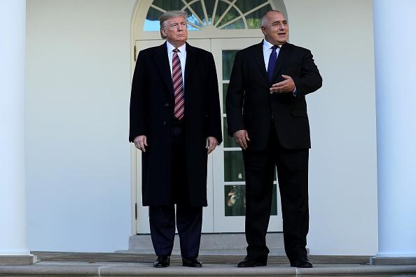 Full Length「President Trump Hosts The Prime Minister Of Bulgaria At The White House」:写真・画像(18)[壁紙.com]