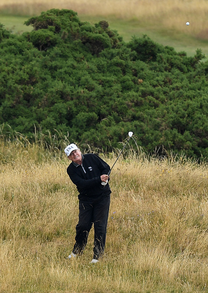 Turnberry「Scotland Protests At The Visit Of United States President Donald Trump」:写真・画像(18)[壁紙.com]