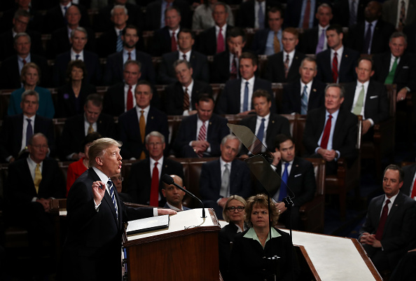 Joint Session of Congress「Donald Trump Delivers Address To Joint Session Of Congress」:写真・画像(14)[壁紙.com]