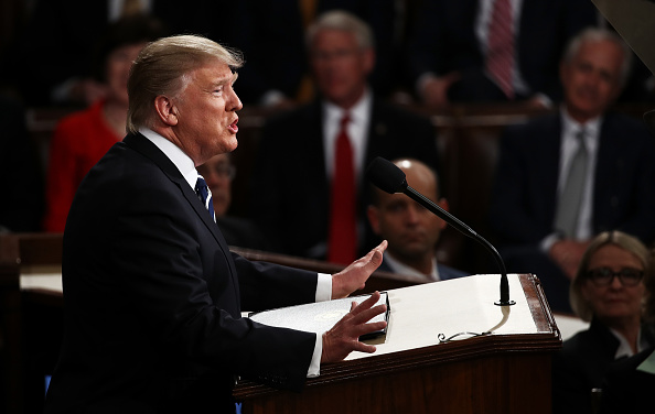 Joint Session of Congress「Donald Trump Delivers Address To Joint Session Of Congress」:写真・画像(5)[壁紙.com]