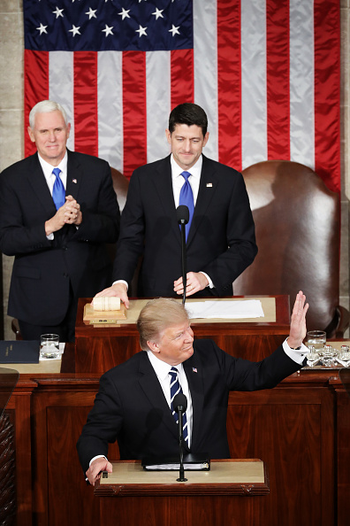 Joint Session of Congress「Donald Trump Delivers Address To Joint Session Of Congress」:写真・画像(15)[壁紙.com]
