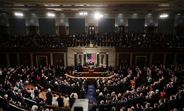 Congress「Donald Trump Delivers Address To Joint Session Of Congress」:写真・画像(15)[壁紙.com]
