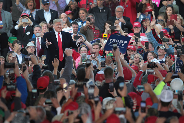 Event「Donald Trump Holds MAGA Campaign Rally In Southern Illinois Ahead Of Midterm Elections」:写真・画像(7)[壁紙.com]