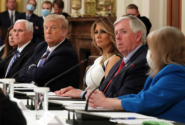 Arizona「President Trump Participates In National Dialogue On Safely Reopening Nation's Schools」:写真・画像(9)[壁紙.com]