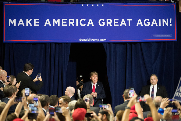 MAGA「Donald Trump Holds MAGA Rally In Johnson City, Tennesee」:写真・画像(17)[壁紙.com]