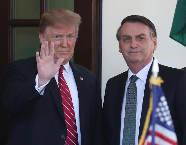 Jair Bolsonaro「President Trump Holds Joint Press Conference With Brazilian President Bolsonaro」:写真・画像(19)[壁紙.com]