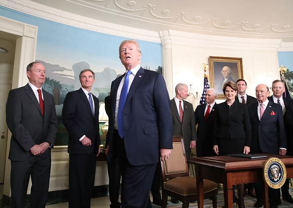 Aggression「President Trump Signs A Presidential Memorandum On Sanctioning China Over Economic Aggression」:写真・画像(5)[壁紙.com]