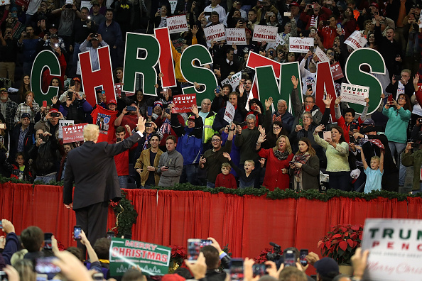 Florida - US State「President Trump Holds A Rally In Pensacola, Florida」:写真・画像(17)[壁紙.com]